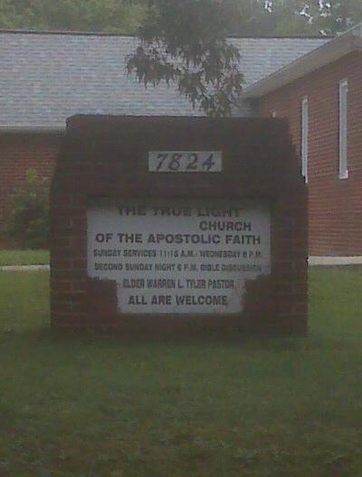 True Light Church of the Apostolic Faith