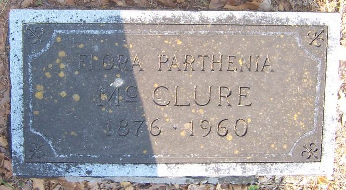 Flora Parthenia <i>Potter</i> McClure