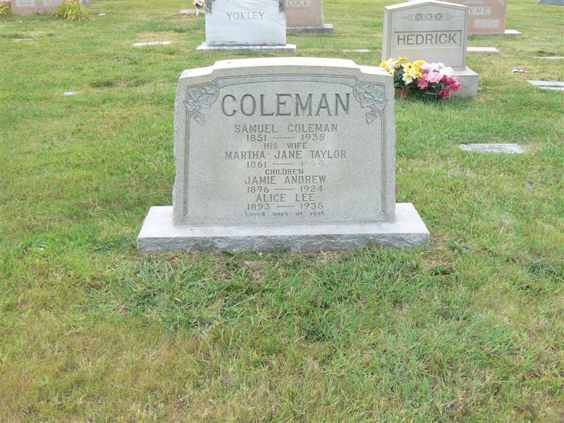 Alice Lee Coleman