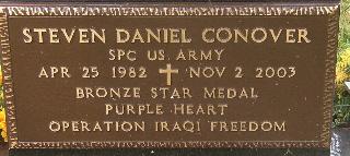 Sgt Steven Daniel Conover