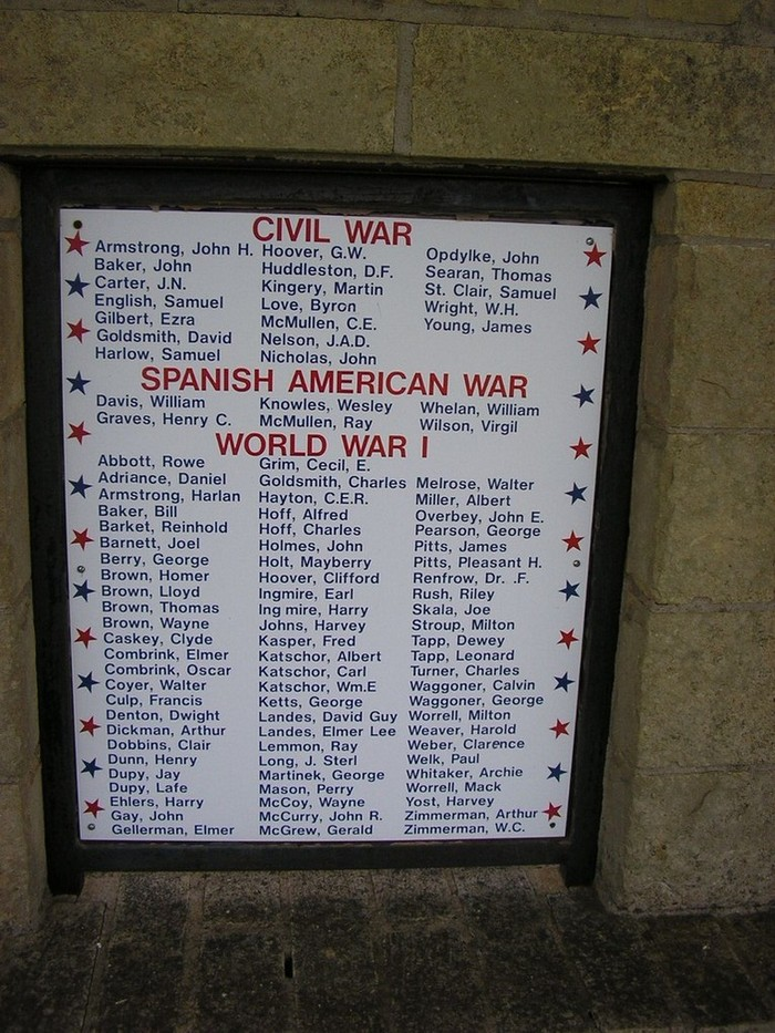 Memorial Civil-Spanish American-World War I
