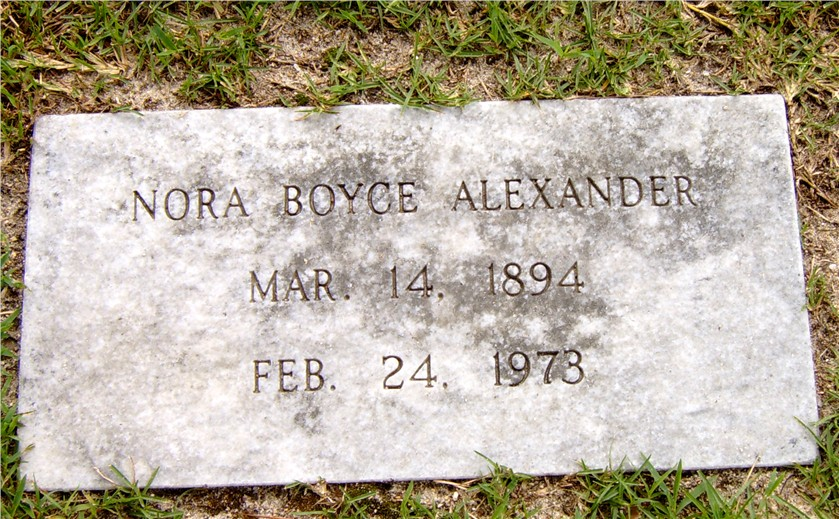 Nora <i>Boyce</i> Alexander