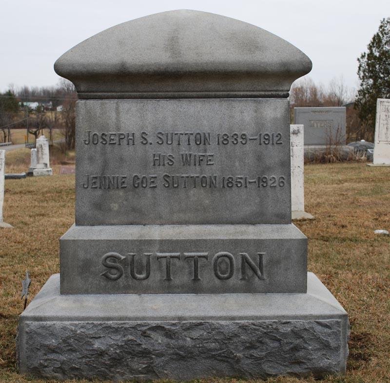Mary Jennie <i>Coe</i> Sutton
