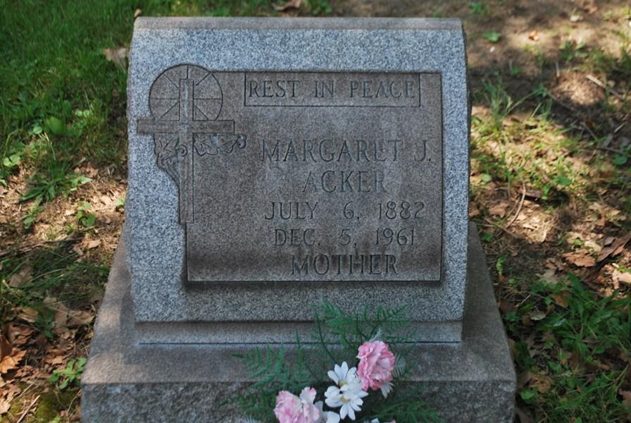 Margaret J Maggie Acker