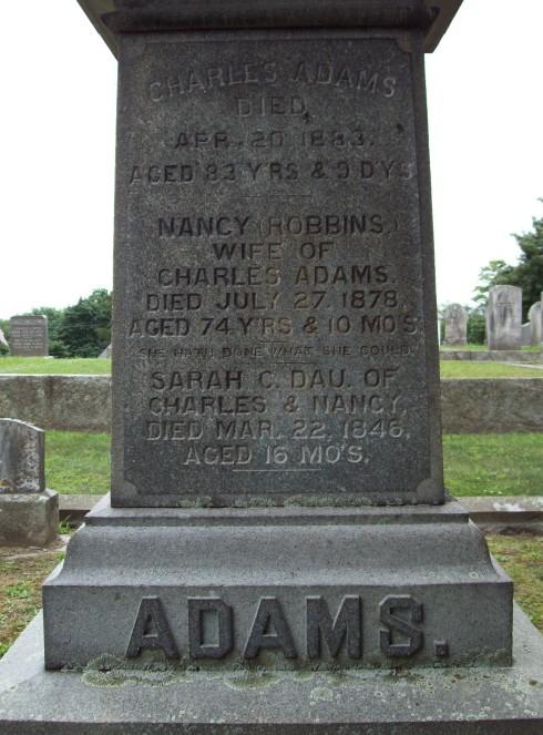 Nancy <i>Robbins</i> Adams