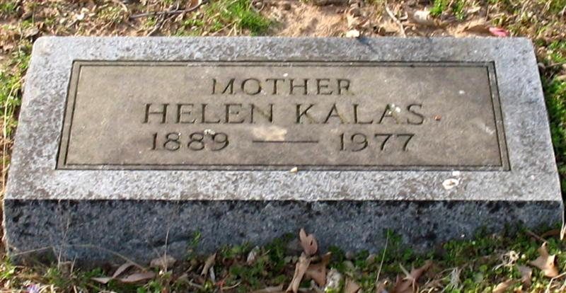 Helen <i>Stamatopoulous</i> Kalas