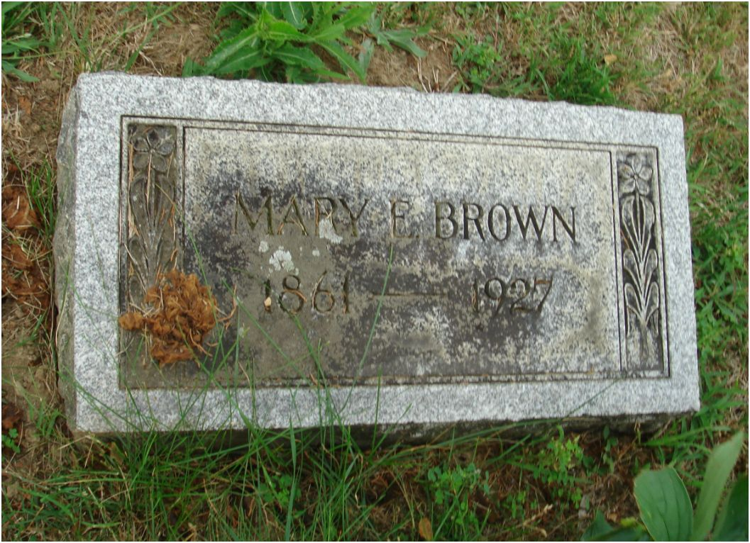 Mary Eliza <i>Merrihew</i> Brown