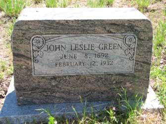 John Leslie Green