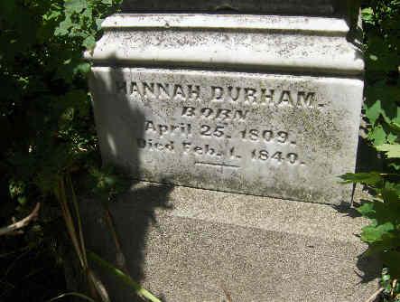 Hannah <i>Spears</i> Durham