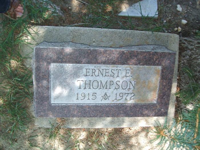 Ernest Eugene Thompson