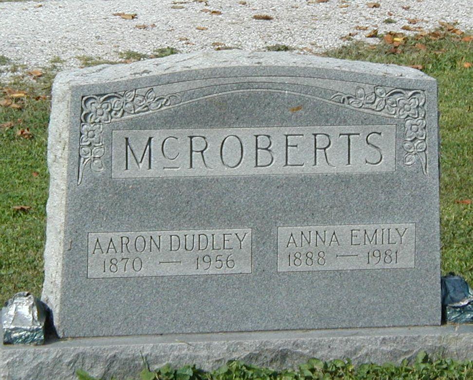 Aaron Dudley McRoberts (1870-1956) - Find A Grave Memorial