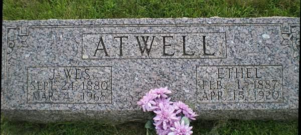 Cloa Ethel <i>Nunn</i> Atwell
