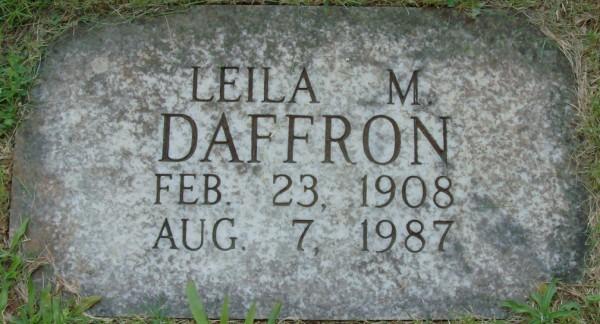 Leila <i>Mercer</i> Daffron