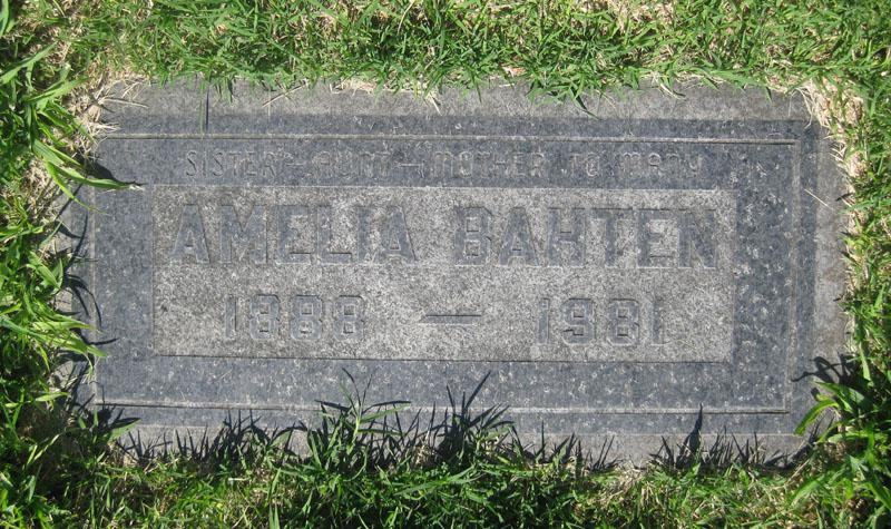 Amelia Melinda <i>Kahl</i> Bahten