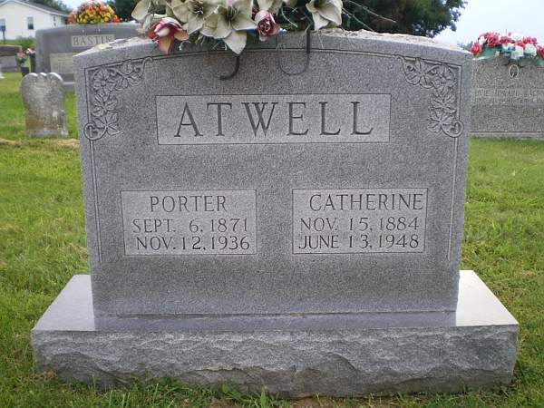 Susan Catherine <i>Nunn</i> Atwell