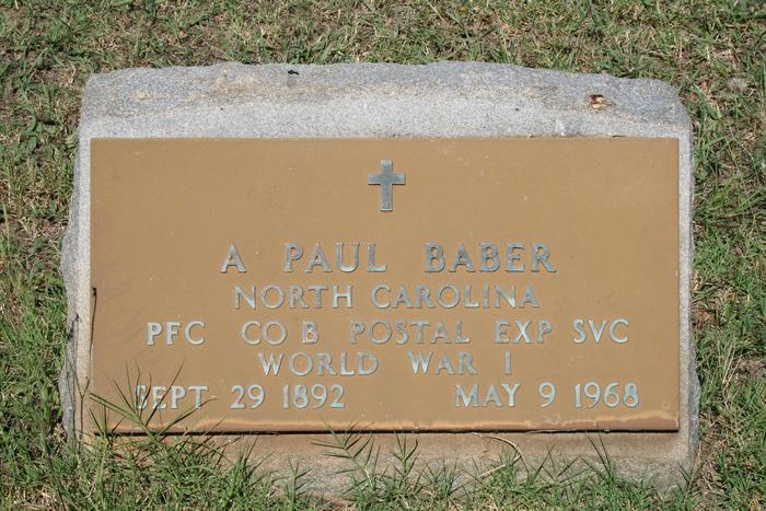 A Paul Baber