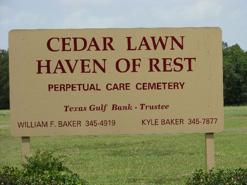 bakers funeral home west columbia tx