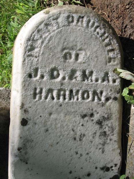Infant Daughter Harmon