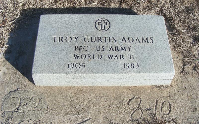 Troy Curtis Adams