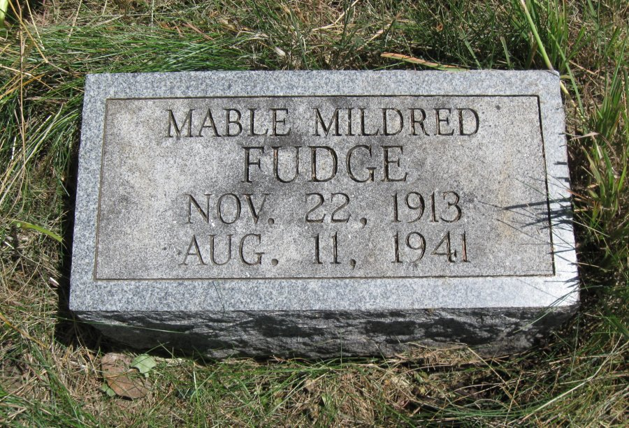 Mable Mildred Fudge