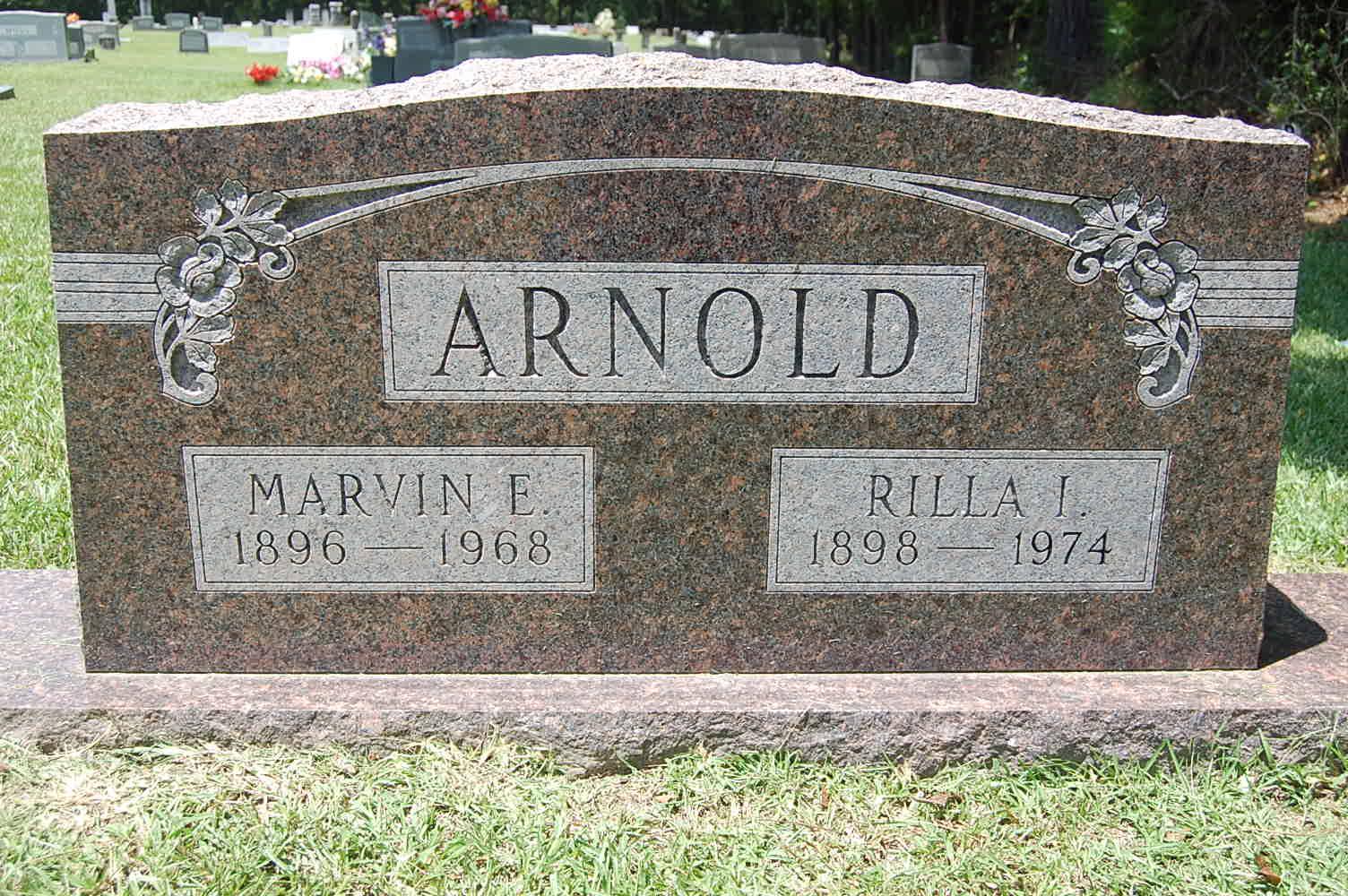 Rilla Irene <i>Oakes</i> Arnold