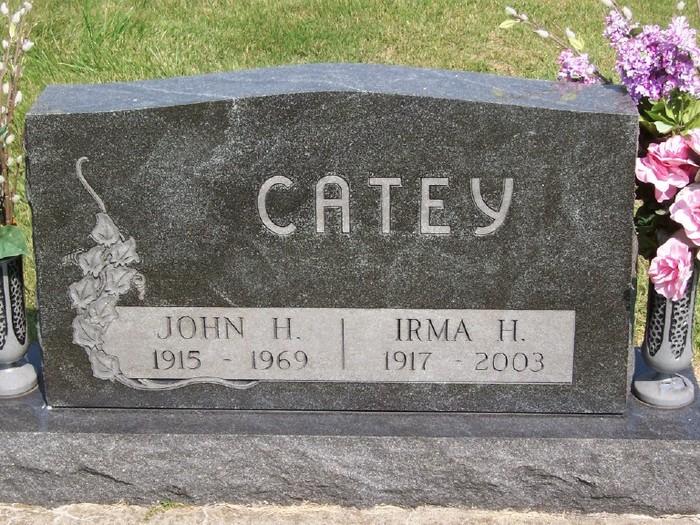 Irma Naomi <i>Hubbart</i> Catey
