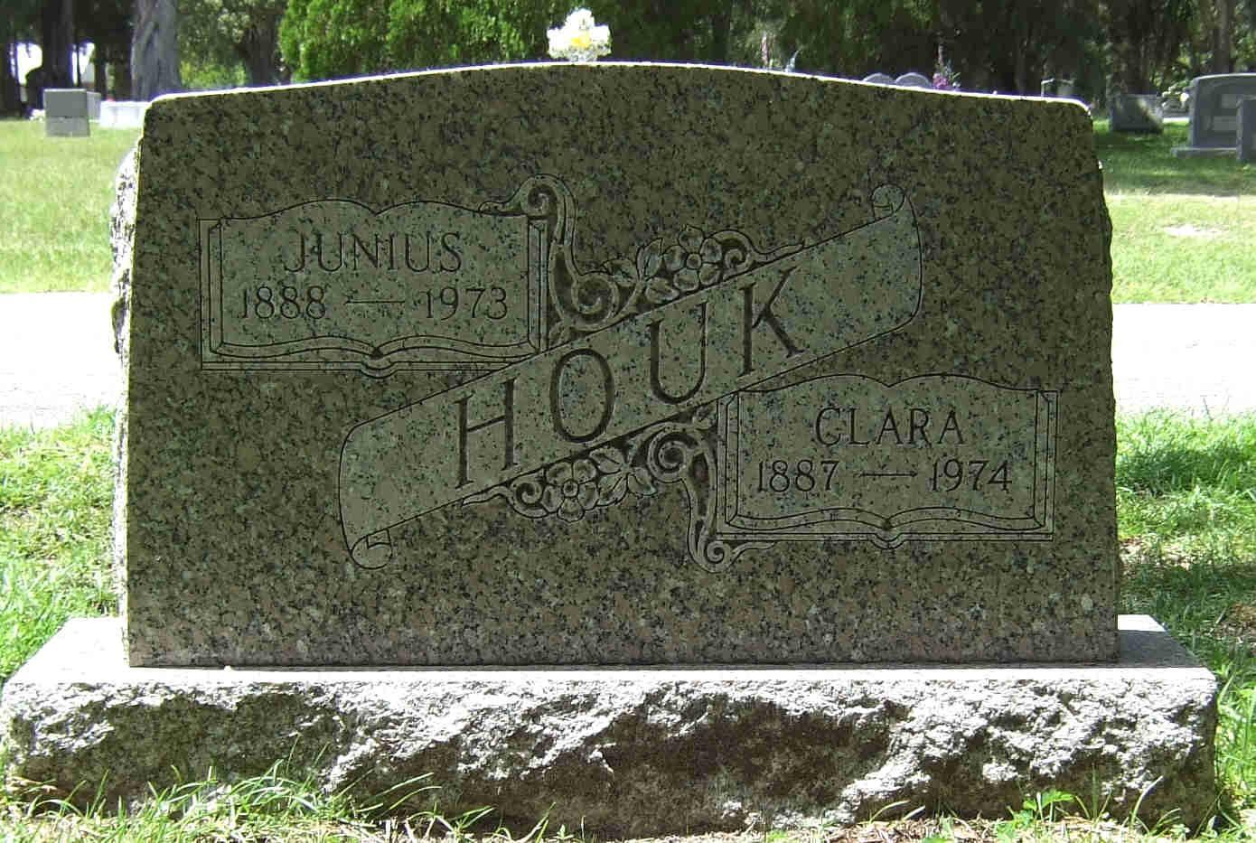 Clara <i>Voorhies</i> Houk