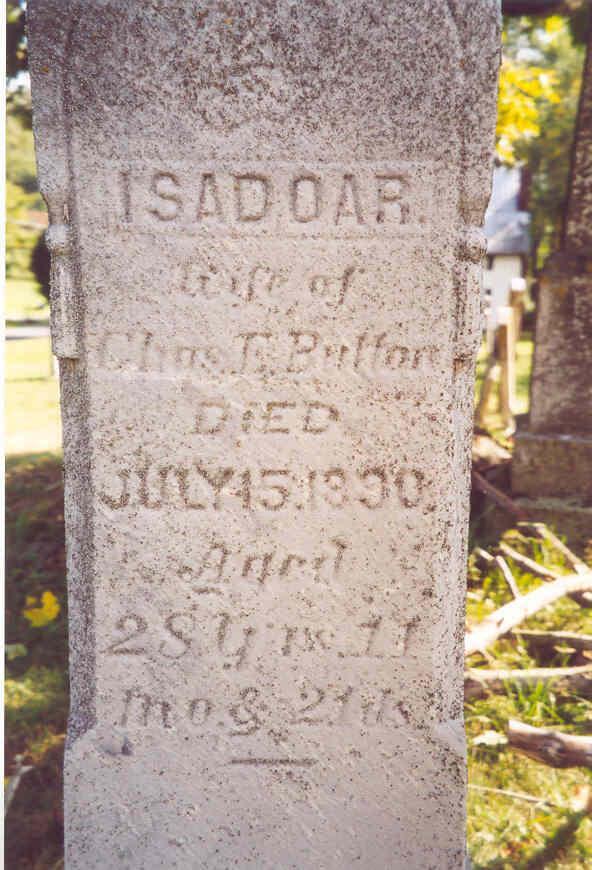 Isadoar H. <i>Meade</i> Button