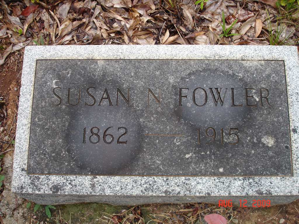 Susan Nancy Fowler