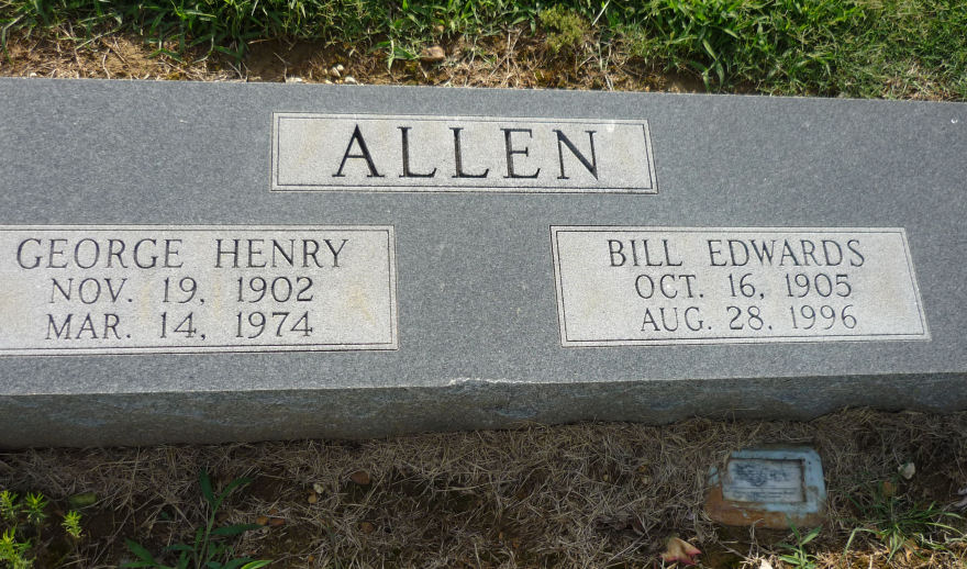 Willie Mae Bill <i>Edwards</i> Allen