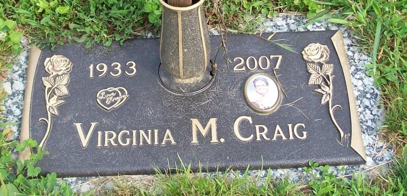 Virginia Marie <i>Mayfield</i> Craig