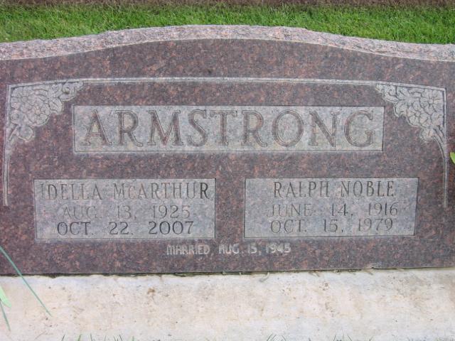 Idella <i>McArthur</i> Armstrong