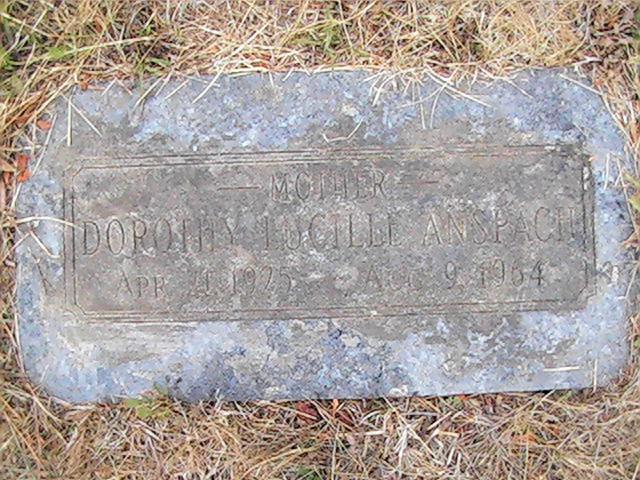 Dorothy Lucille Anspach