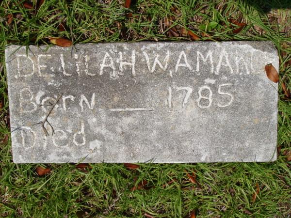 Delilah <i>Walker</i> Amaker
