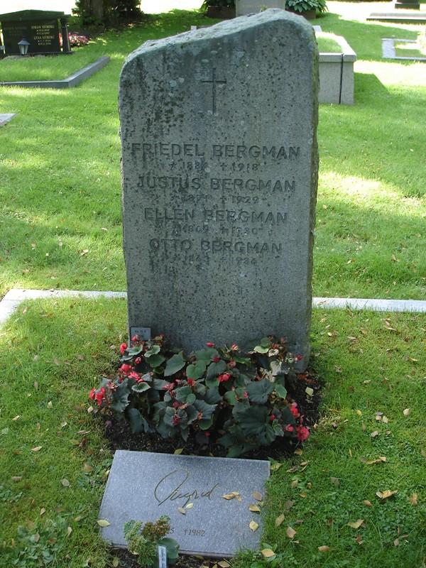 Friedel <i>Adler</i> Bergman