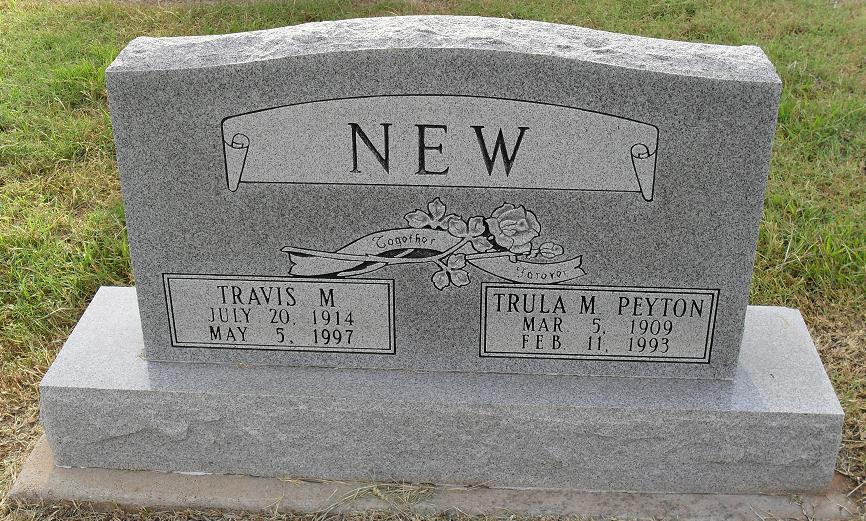 Trula M. <i>Peyton</i> New