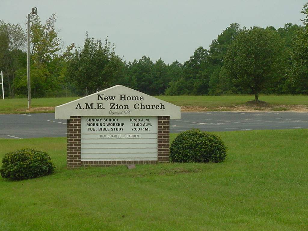 New Home AME Zion Church Cemetery