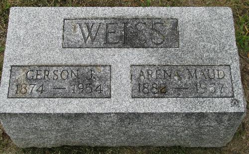 Arena Maud <i>Sitler</i> Weiss