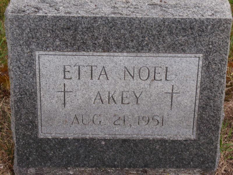 Esther Marie Noel Etta <i>Herrick</i> Akey