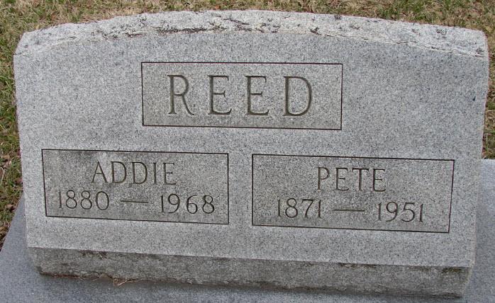 Mary Addie <i>Shipley</i> Reed