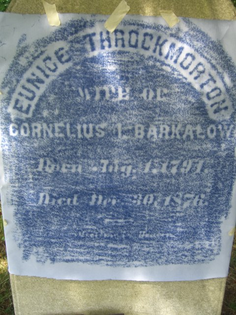 Eunice <i>Throckmorton</i> Barkalow