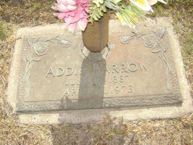 Addie Mae <i>Allison</i> Barrow
