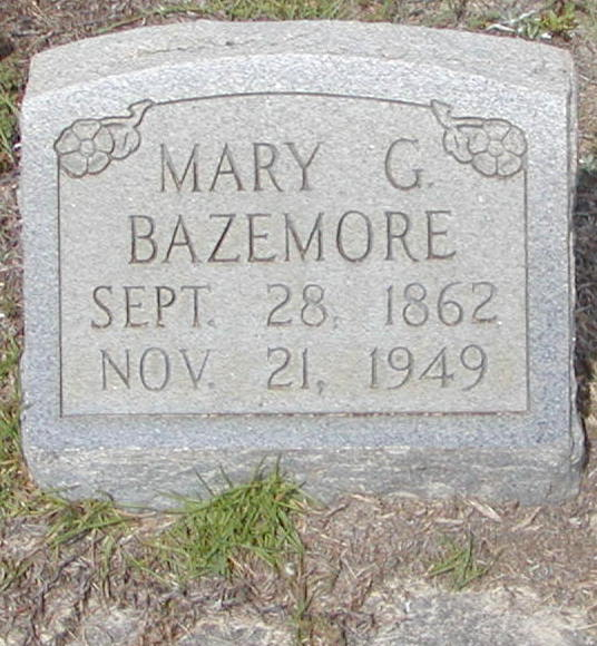 Mary Clyde <i>Griner</i> Bazemore