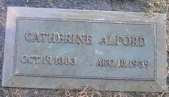 Catherine Elizabeth <i>Oldfield</i> Alford