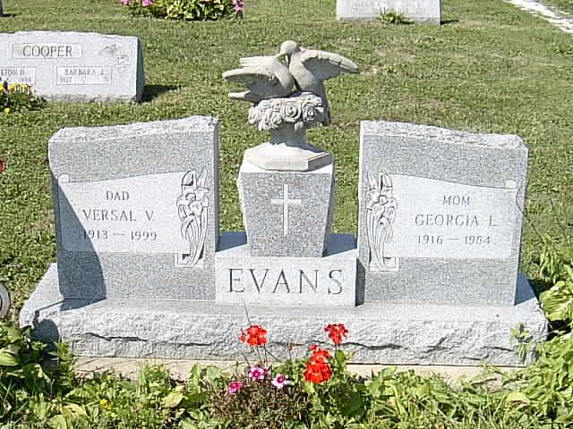 Georgia Loretta <i>Powers</i> Evans