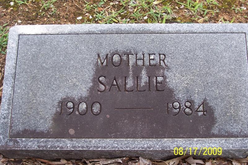 Sallie <i>Coger</i> Simpson