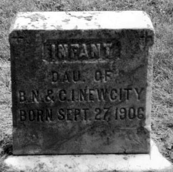 Infant Daughter of Berton Newcity