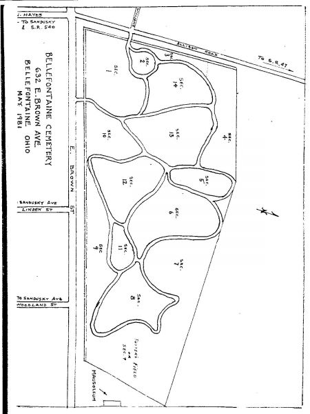 Bellefontaine City Cemetery