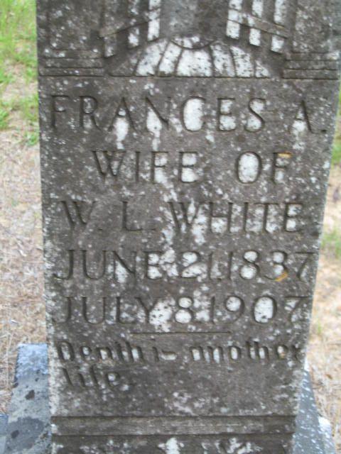 Frances A. <i>Staples</i> White