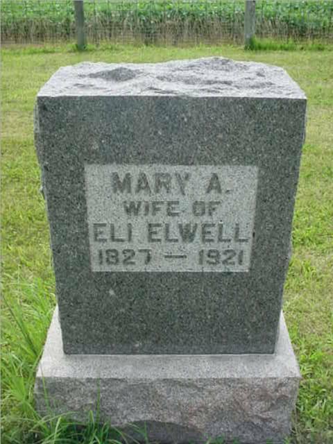 Mary Ann <i>McKee</i> Elwell